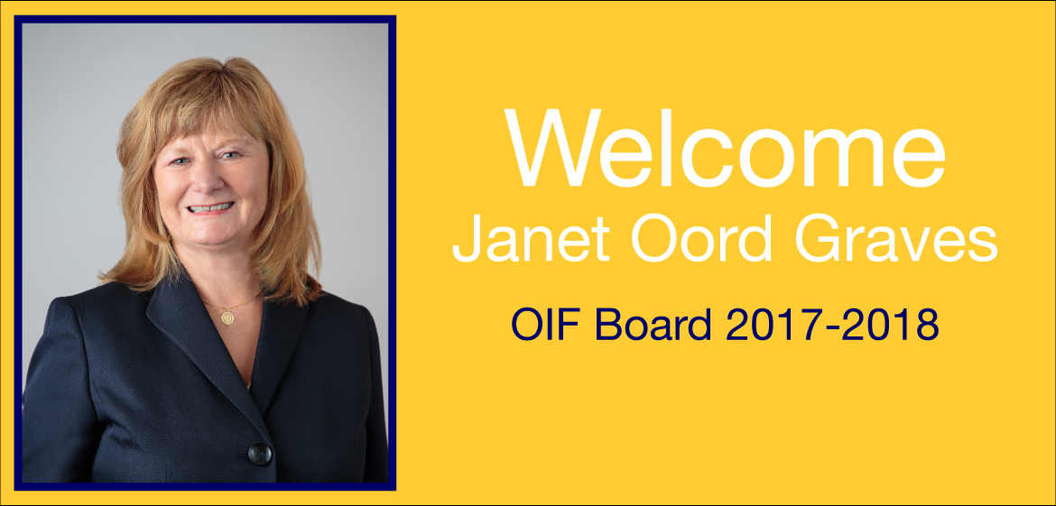 Congratulations Janet Oord Graves